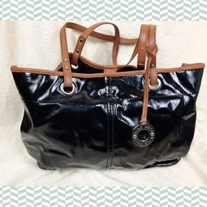 Nine west wide shoulder bag